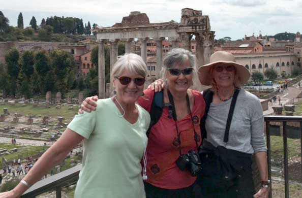 Dr. Melissa Nelson in Italy