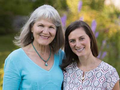Dr. Melissa Nelson and Dr. Kathleen Arnold at Door County Healing Center