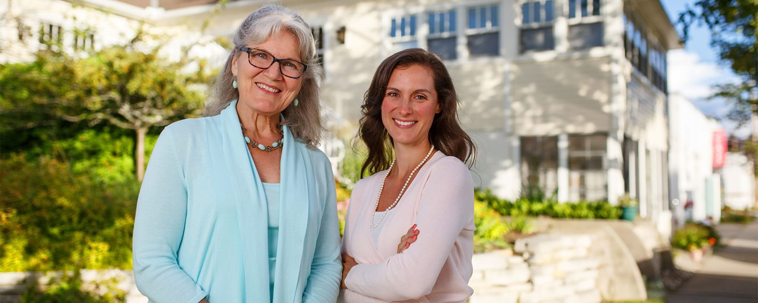Dr. Kathleen Arnold and Dr. Melissa Nelson